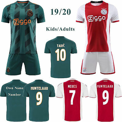 19//20 Kids Adult Football Full Kit Youth Jersey Boys Soccer Team Sports Outfit
