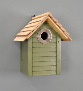 Three Birdhouse Bird Nest Breeding Box Wildlife World Pet Supplies