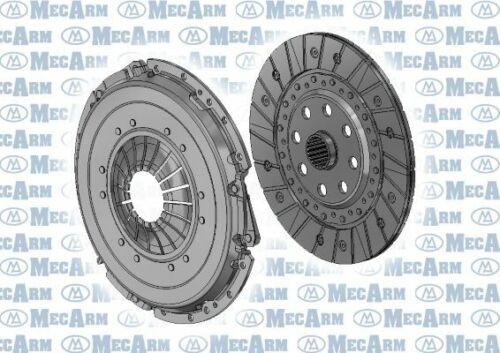 MECARM Kupplungssatz MK10109D für CHEVROLET OPEL