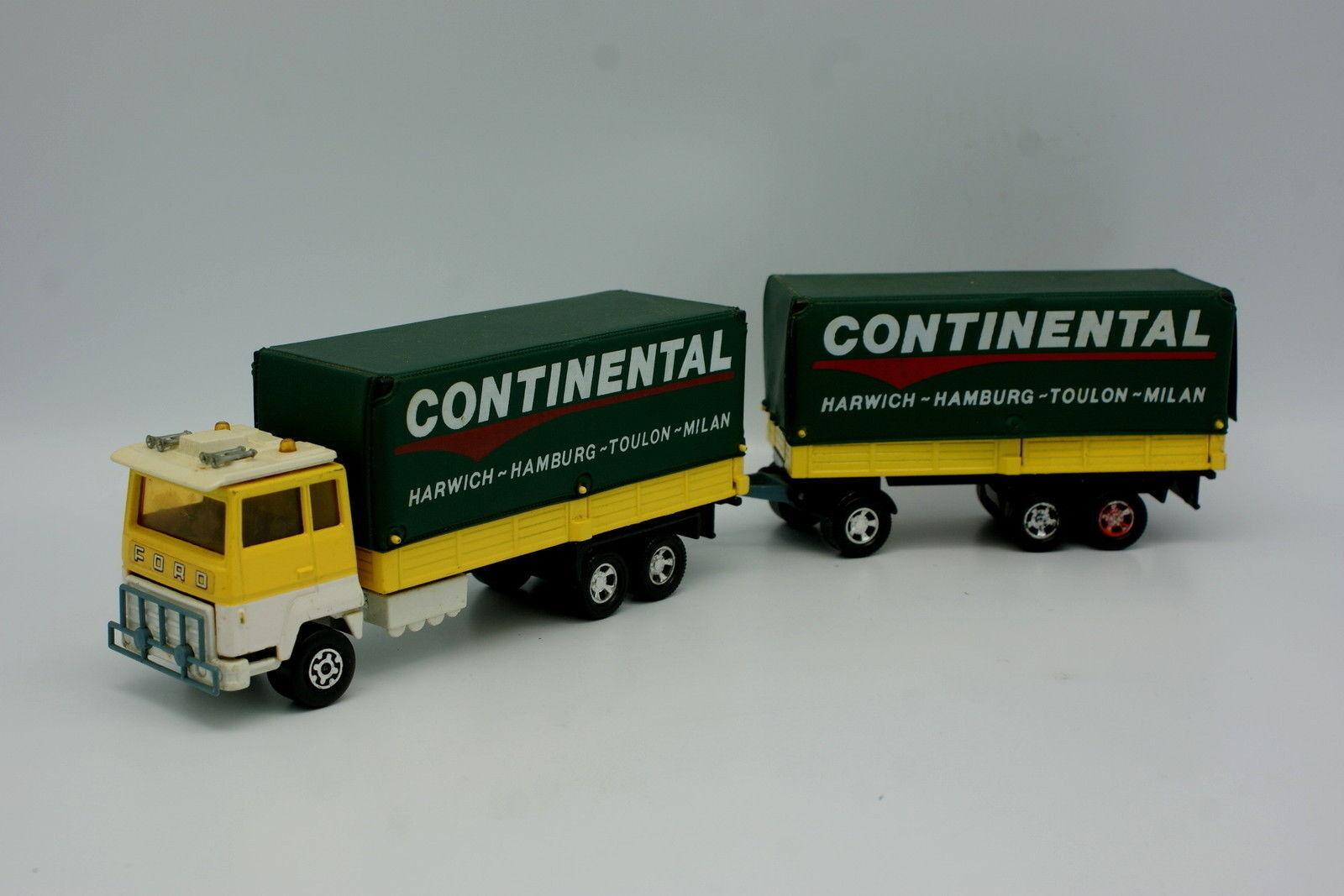 Matchbox 1 50 - Ford M Träger + Anhänger Continental