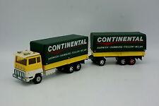 Matchbox 1/50 - Ford M Porteur + Remorque Continental