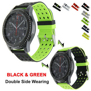 Image is loading 2,COLOR,Sport,Silicone,Bracelet,Strap,Band,For,