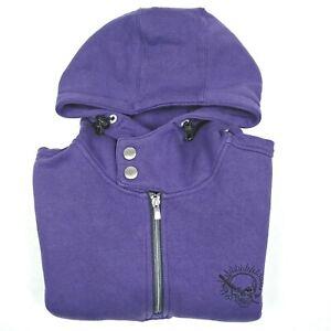 Jack-and-Jones-UK-Core-Men-039-s-Hoodie-Size-Large-L-42-Purple-Jumper-Sweatshirt