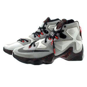 finest selection 4ef42 69276 Image is loading Nike-807219-003-Mens-Lebron-13-034-Rubber-