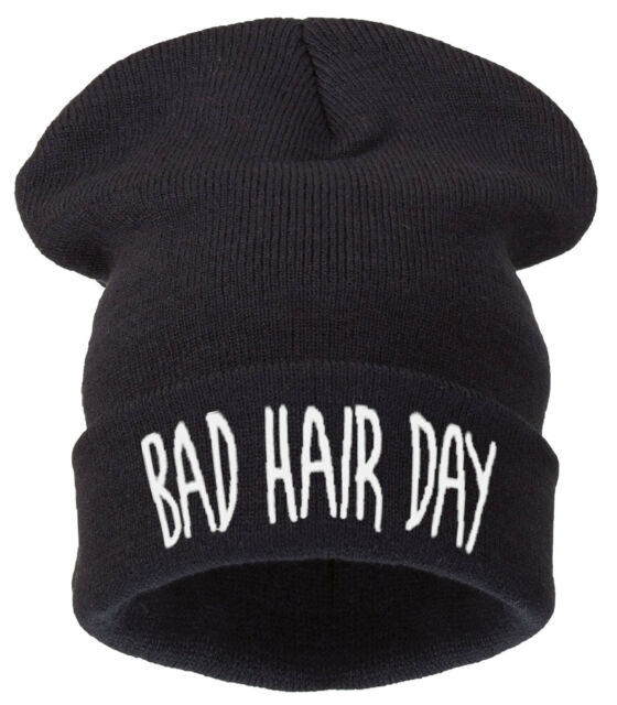 Winter Knitted FRESH  BEANIE HAT CAP BAD HAIR HATS WOOLY SNAP BACK 1994 NY CAP