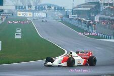 Ayrton Senna McLaren MP4/8 Winner European Grand Prix 1993 Photograph 2