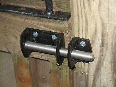 """Heavy Duty Double Lockable Bar Gate Latch 6-1//2/"""" 49683"""