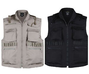 MENS-Army-Military-Hunting-Game-Vest-Fishing-Travel-Camping-Ranger-Vest-S-M-L-XL