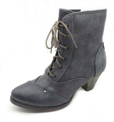 Tamaris Damen Stiefel 26462 RV Leder Boots navy
