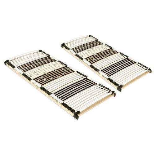 Extra stabiler 44 Leisten Lattenrahmen UV 100x200cm bis 200kg Set Angebot