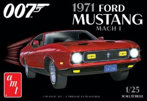 AMT 1//25 James Bond 1971 Ford Mustang Mach I Car AMT1187