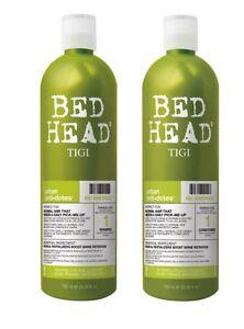 Tigi Bed Head Antidotes Re-Energize Shampoo 750ml + Conditioner 750ml Tween Duo