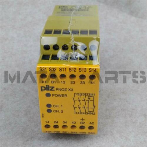 1PC PILZ 774310 PNOZ X3 24VAC//VDC 3n//o 1n//c 1so NEW