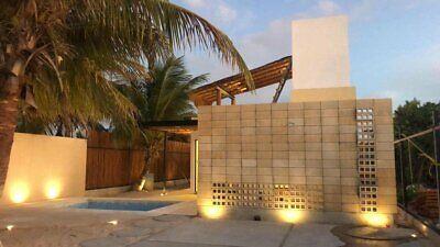 Casa en la Playa en Yucatan a 2 cuadras del MAR con Piscina