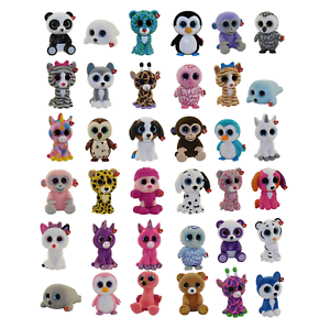 SET of 36 Ty Beanie Boos Mini Boo Hand Painted Collectible Figure (SERIES 1 2 3)