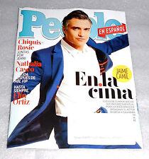 People en Espanol Magazine Agosto 2016 August Jaime Camil Nathalia Casco