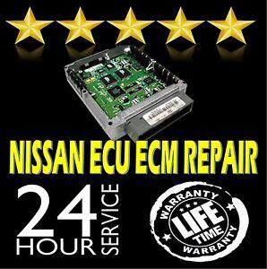 Detalles acerca de Se adapta a Nissan Maxima Motor Control Computadora  módulo Reparacion Ecm Ecu Pcm- mostrar título original