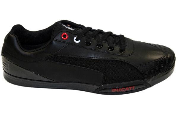 DUCATI / Puma 1198 ST Turnschuhe / DUCATI Schuhe Sneaker schwarz NEU 057544