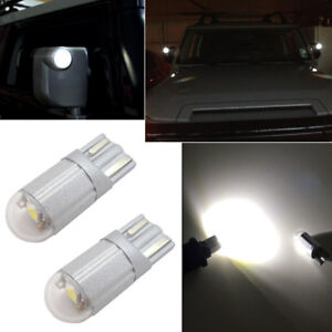 2pcs Xenon White Led Side Mirror Light Bulbs Fit For 2007