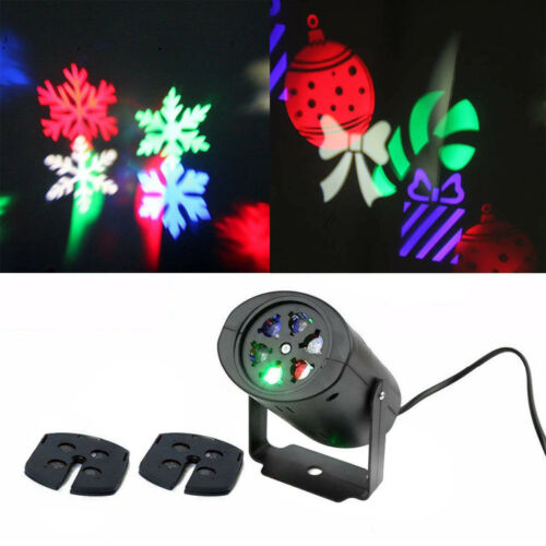 Xmas Halloween Lamp Moving LED Laser Projector Light Landscape Outdoor Party