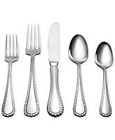 Oneida Pebblebrook 50 Piece Casual Flatware Set, Service For 8 on sale