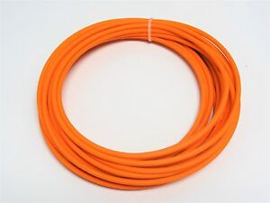 AUTOMOTIVE WIRE 10 AWG HIGH TEMP GXL WIRE ORANGE 100 FT ON A SPOOL MADE IN U.S.A