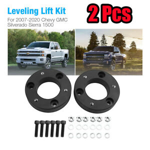 2-034-Front-Leveling-Lift-Kit-for-2007-2020-Chevy-GMC-Silverado-Sierra-1500-2WD-4WD