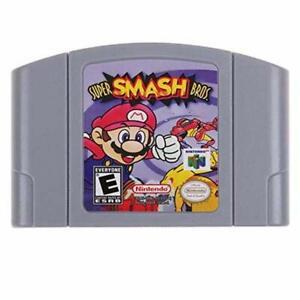 US-Version-Super-Smash-Bros-Video-Game-Cartridge-Console-Card-For-Nintendo-N64