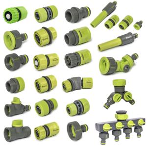 Schlauchverbinder-Schlauchkupplung-Hahnanschluss-Reparator-Spruehset-1-2-034-3-4-034-1-034