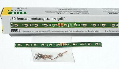 Minitrix 66618 N LED Innenbeleuchtung sunny-gelb NEU /& OVP +