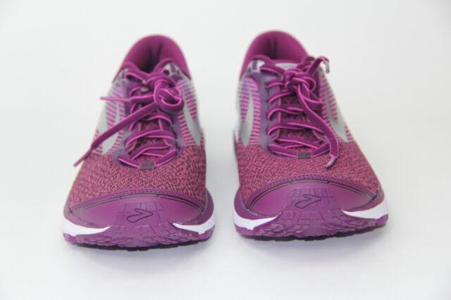 613b33eb96618 Brooks Women  s Ghost 10 Running Shoes Purple Pink Teal 1202461B511 ...