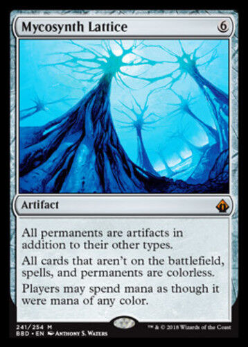 [1x] Mycosynth Lattice [x1] Battlebond Near Mint, English -BFG- MTG Magic