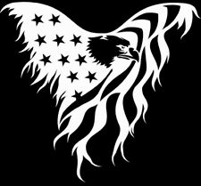 Bald Eagle Stencil - Patriotic American DIY Signage USA Airbrush