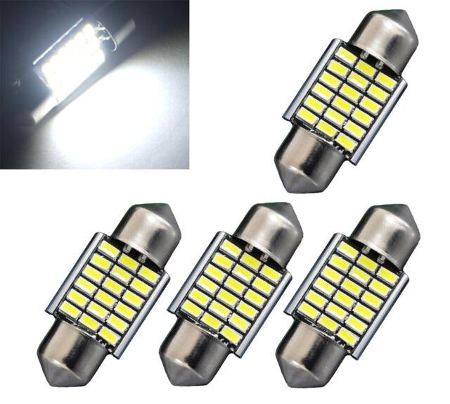 4x 30mm/31mm Soffitte Sofitte 3014 LED 3W Innenraum Beleuchtung Deutsche Post
