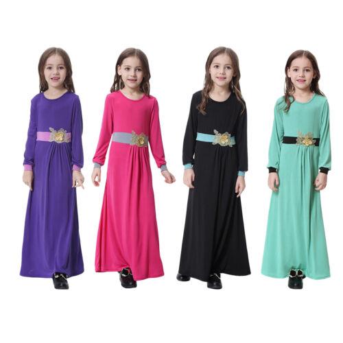 Maxi Abiti Islamici Musulmani Per Bambini A Manica Lunga Musulmana Abaya