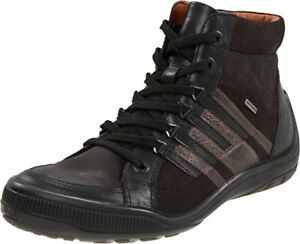 GEOX U JOHNNY ABX G SUPER OFFERTA Waxed.Lea Col.Black/Grey Scarpe Uomo Sneakers