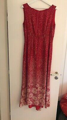 c6d8830f Find Rød Silke Kjole på DBA - køb og salg af nyt og brugt