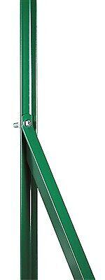 saetta di tensione in ferro plastificato per recinzioni cm 200 mm 25x25 verde