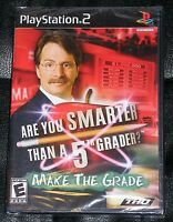Playstation 2 Ps2 Game - Are You Smarter Than A 5th Grader? Make The Grade (new)
