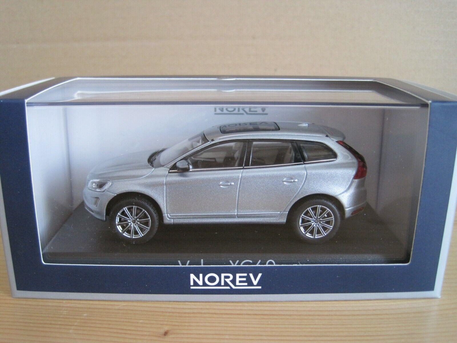 Norev VOLVO XC60 in argentoo Elettrico Auto modellolo 143