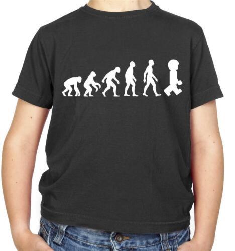 Blocks Movie Toys Film Evolution Of Man Master Builder Kids T-Shirt