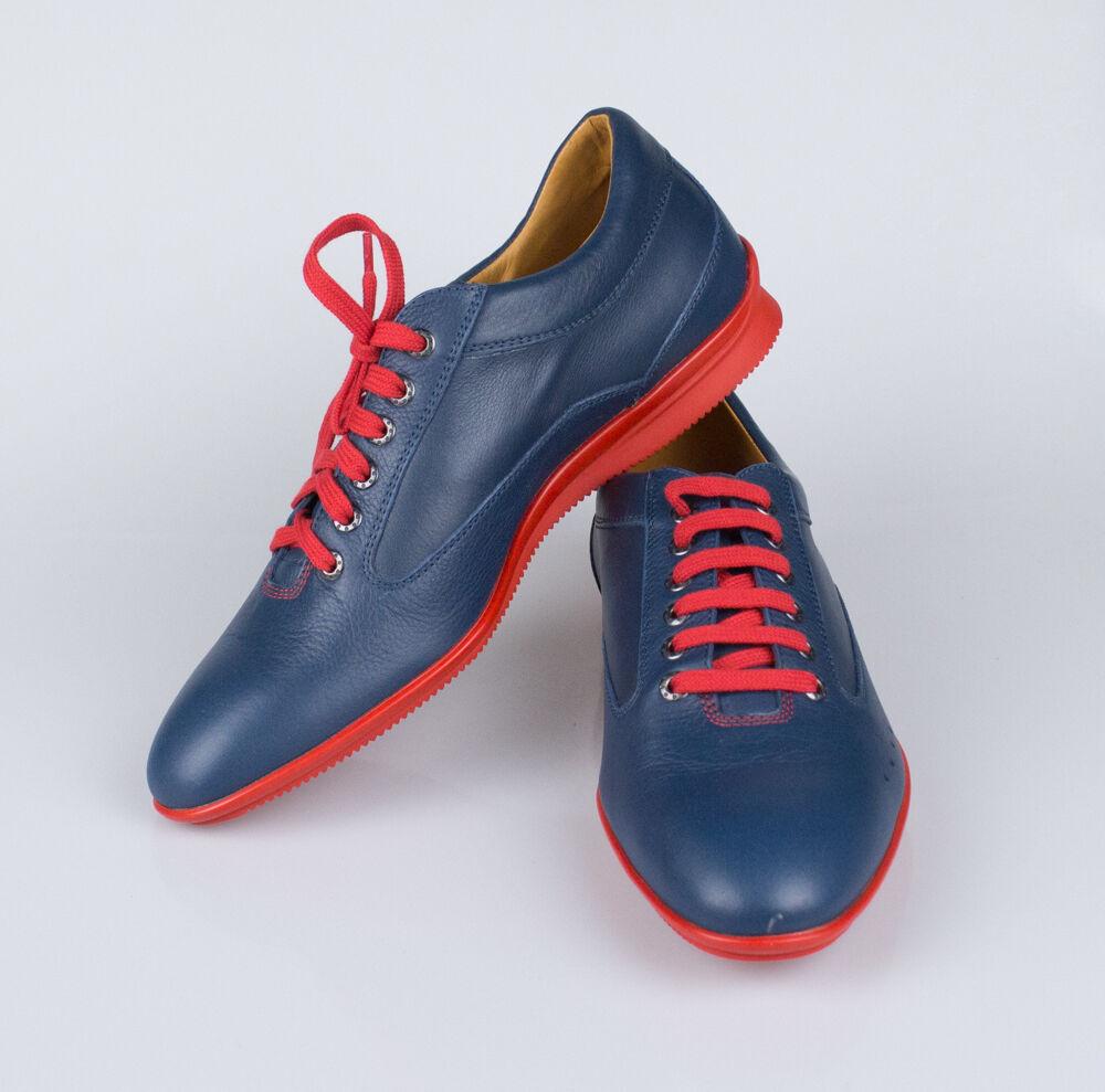New JOHN LOBB for ASTON MARTIN Blue Winner Sport Racing Shoe Size 6 U.K. $1745