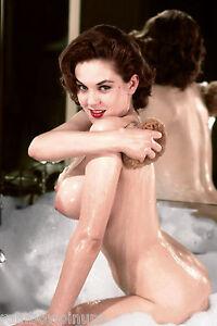 A264-4x6-October-1957-PLAYBOY-Playmate-COLLEEN-FARRINGTON-BIG-BOOBS-NUDES