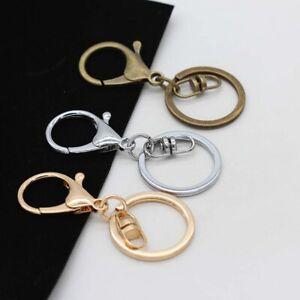 Lots-5pcs-Lobster-Clasp-Key-Ring-Key-Hook-Chain-Jewelry-Making-Keychain-Supplies