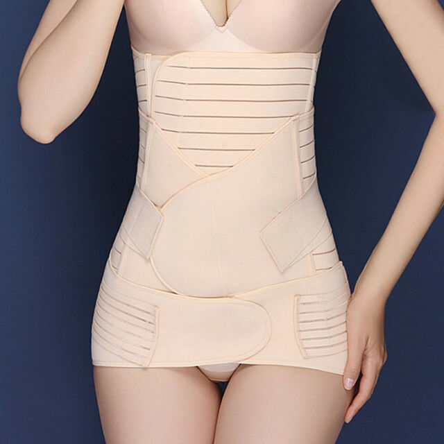 2bf0d33517519 in Postpartum Support Recovery Belly waist pelvis Belt Shapewear (nude) for  sale online