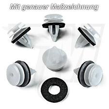 5x Innenverkleidung Befestigung Clips mit Dichtung für BMW + MINI | 51418224768