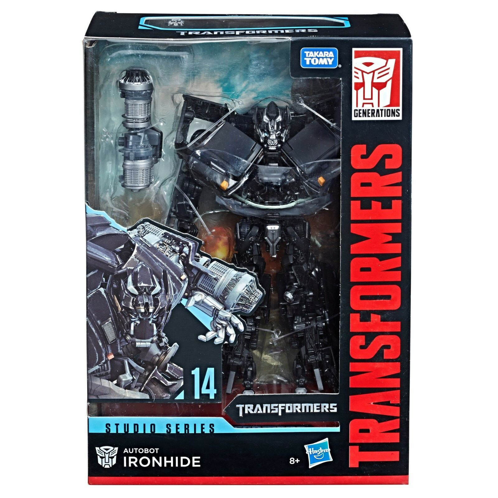 (In-Hand) Transformers Studio Series Voyager Class IRONHIDE Figure NEW