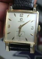 VINTAGE OMEGA 14KT GOLD FILLED MENS WATCH CIRCA 1940S