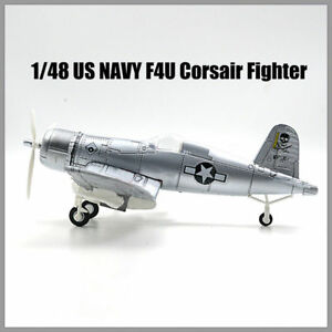 1PCS-Plastic-Aircraft-Airplane-Model-Airplane-1-48-US-NAVY-F4U-Corsair-Fighter
