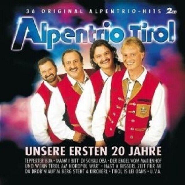 ALPENTRIO TIROL - UNSERE ERSTEN 20 JAHRE 2 CD++++++++++++++ NEU